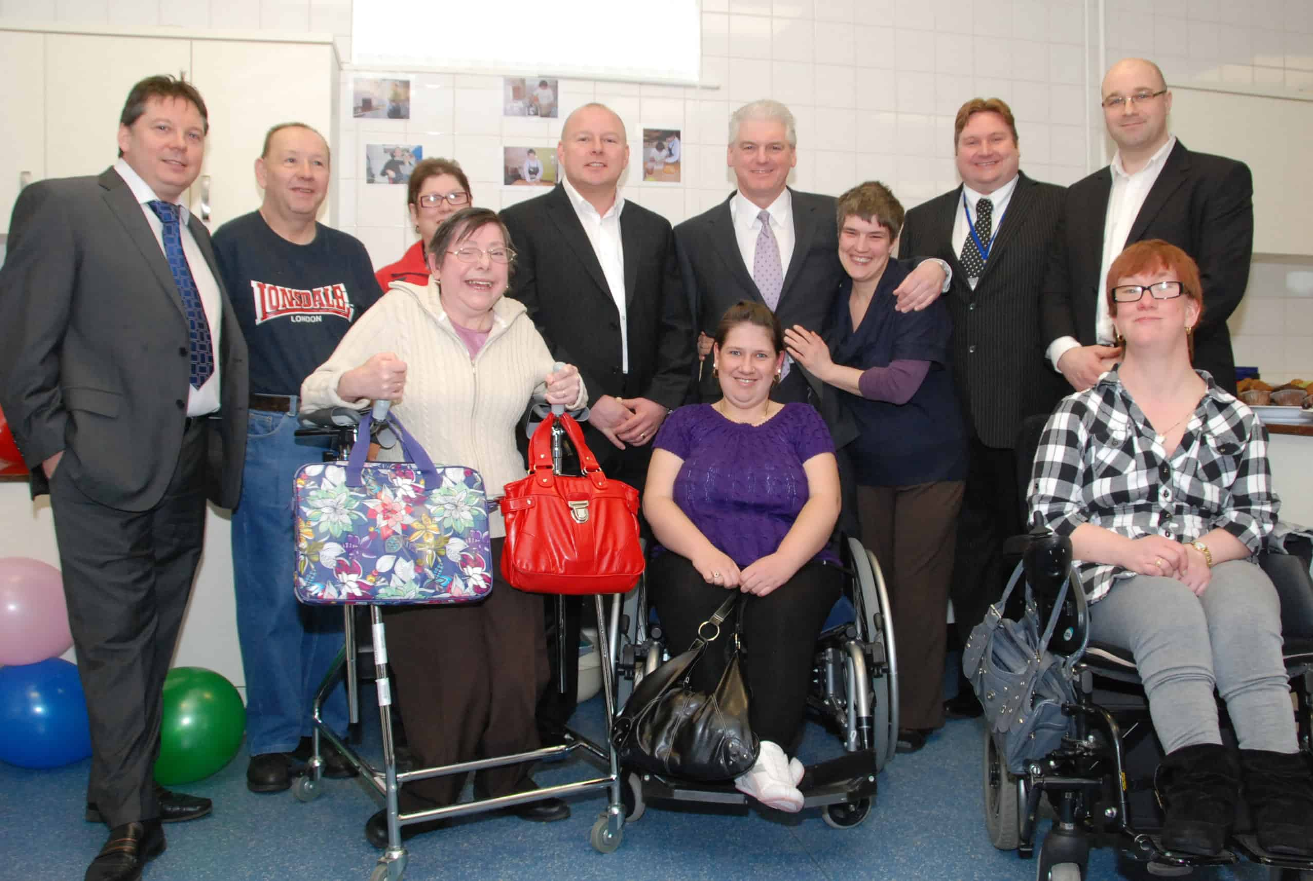 Mayor opens support centre's new kitchen